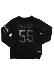 Boys - SNAKE APPLIQUE CREWNECK SWEATSHIRT (4-7)