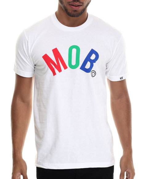 Ur-ID 187929 Married to the Mob - Men White Mob Arc T-Shirt