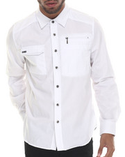 Buyers Picks - Mo7 Zipper Trim L/S Button Down Shirt