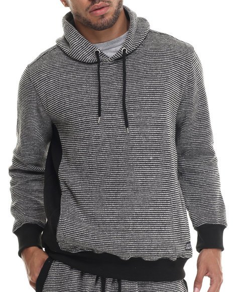 Buyers Picks - Men Black Secret Material Pullover Hoody