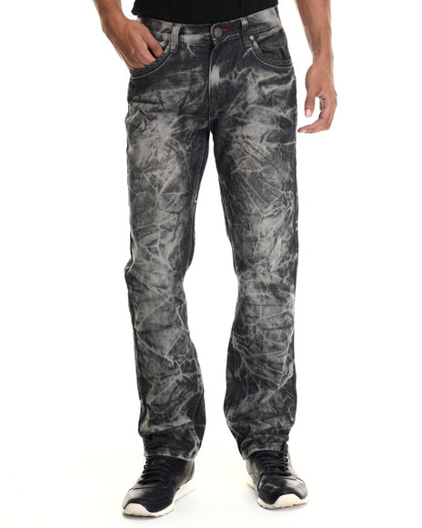 Enyce - Men Black Fab Five Denim Jeans - $42.00