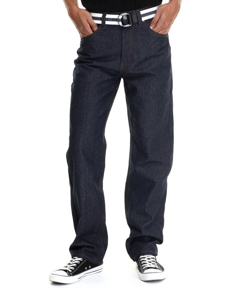Ur-ID 187900 Enyce - Men Navy Core High Road Denim Jeans