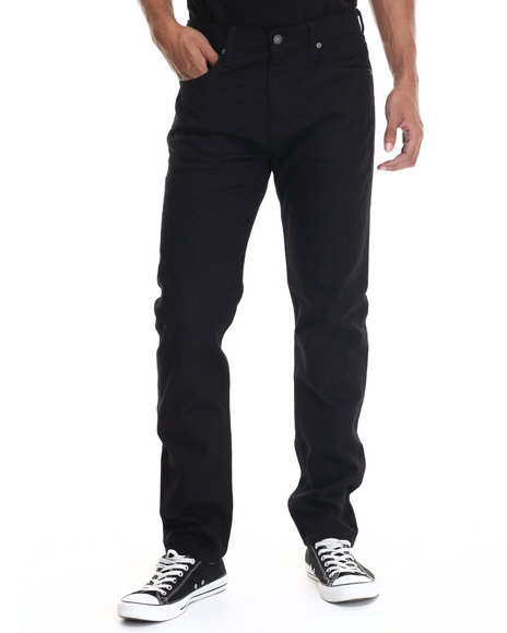 Levi's - Men Black 508 Regular Taper Fit Black F0929 Jeans