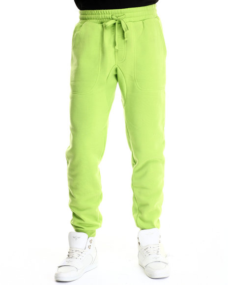 Ur-ID 187924 Buyers Picks - Men Lime Green The Jogger Pant