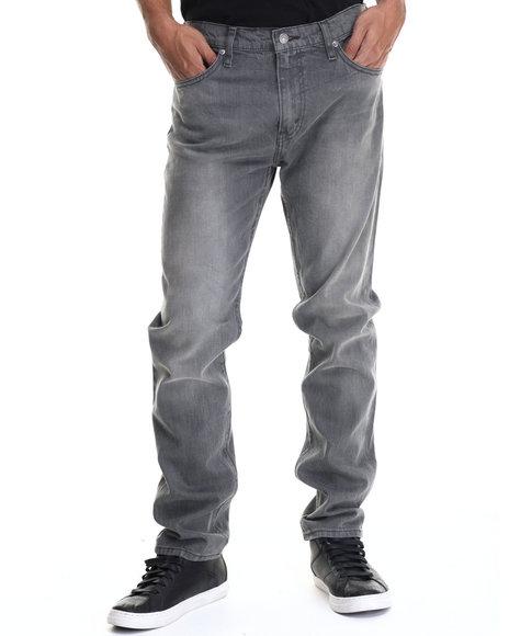 Levi's - Men Grey 508 Regular Taper Fit Grunge Albums Jeans