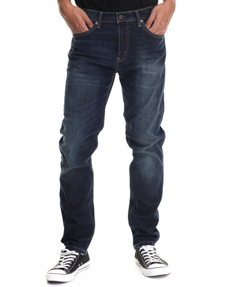 Levi's - Men Dark Wash 508 Regular Taper Fit Sequoia Jeans