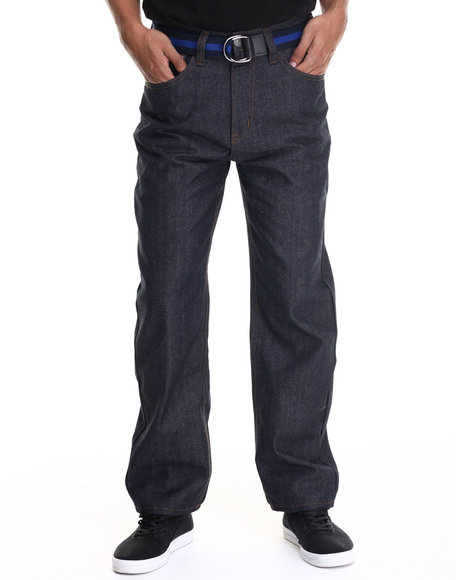 Enyce - Men Blue,Dark Wash Core High Road Denim Jeans