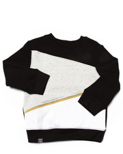 Boys - CUT & SEW SWEATSHIRT (2T-4T)