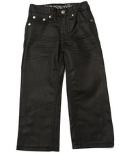 Bottoms - WAX COATED JEANS (4-7)