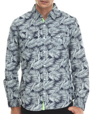 Shirts - Tropical L/S Button-Down