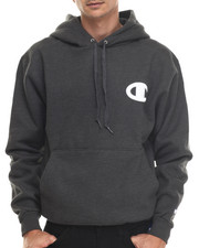 Hoodies - Champion Raised Midsize C Pullover Super Hood Hoodie