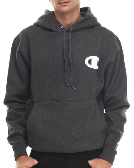 Champion - Champion Raised Midsize C Pullover Super Hood Hoodie