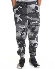 Men - Twill Fashion Camo Jogger pants