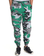 Jeans & Pants - Twill Fashion Camo Jogger pants