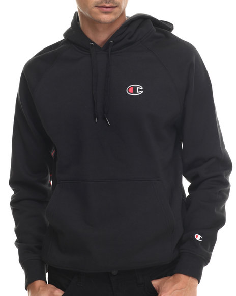 Champion Black Hoodies