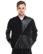 Men - Coalesce Latex Combo Jacket