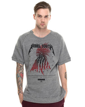 Men - The Rebel Spirit Cutoff Sweatshirt