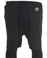 Men - Darko Fleece Drop Crotch Short