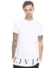 Shirts - Civil Bottom Side Zip Long Tee
