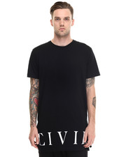 Civil - Civil Bottom Side Zip Long Tee