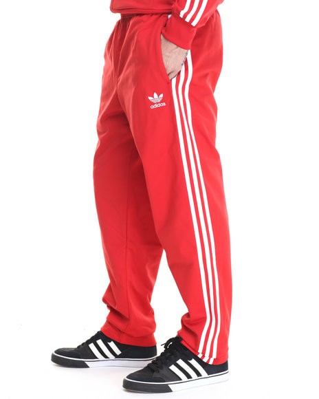 Adidas - Men Red Superstar Track Pants