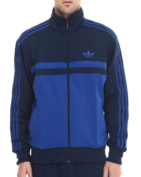 Adidas - Men Blue,Navy Adi Icon Track Top Jacket - $56.99