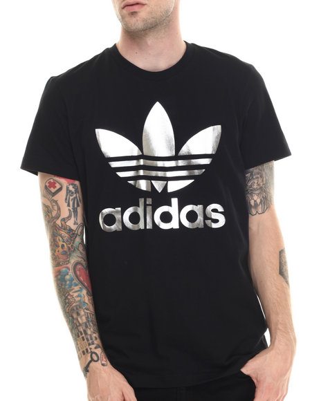 Adidas - Men Black Originals Foil Tee