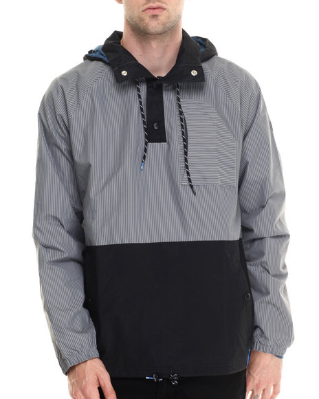 Adidas - Men Grey Silas Wind Jacket