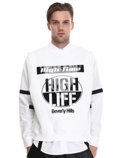 Sweaters - High Life Sleeveless Crew