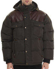 Outerwear - Beef Cake Mix - Media Quilted Jacket