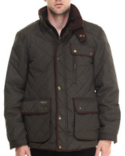 Outerwear - Marchello Diamond - Quilted Fleece - Lined Jacket