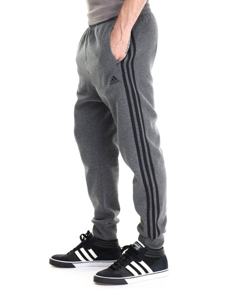 Adidas - Men Grey Slim 3S Pants