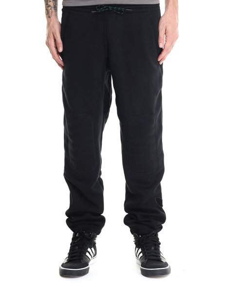 Ur-ID 188028 Adidas - Men Black Premium Fleece Pant Sweatpants