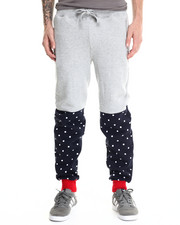 Holiday Shop - Men - Bear The Beams Polka Dot Joggers