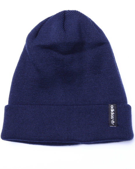 Adidas Men Icon Fold Beanie Hat Navy