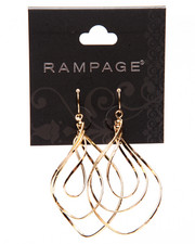 Rampage - Spiral Hoop Earrings