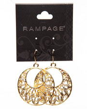 Jewelry - Filigree Circular Earrings
