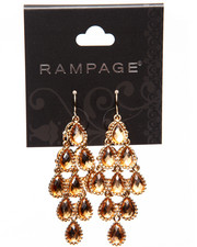 Rampage - Jewel Tear Drop Earrings