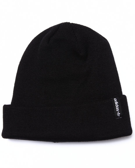 Adidas Men Icon Fold Beanie Hat Black