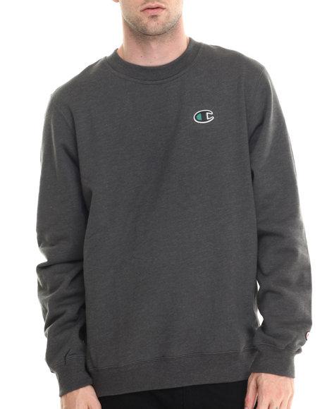 Champion - Men Charcoal Champion Lifestyle Crewneck Sweatshirt