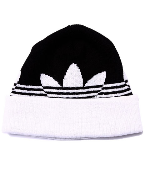 Adidas Men Switch Stripe Beanie Hat Black