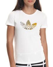 Women - Leopard Trefoil Tee