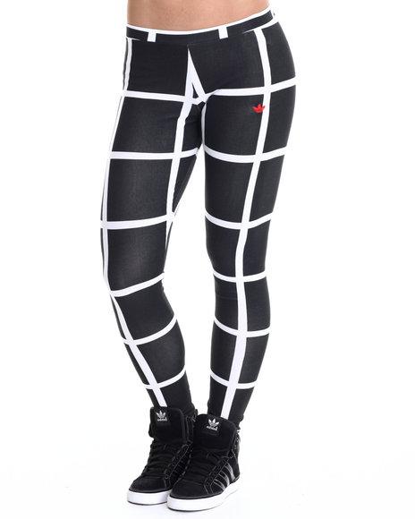 Adidas Black,White Leggings