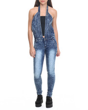 Jumpsuits - Acid Wash Overall