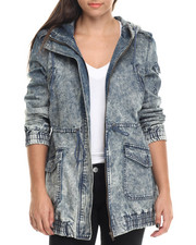 Women - Brooklyn Acid Wash Anorak Jacket