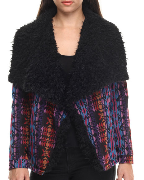 Minkpink - Women Multi Mystic Incense Jacket