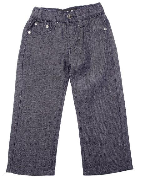 Arcade Styles - Boys Dark Wash Raw Premium Jean (2T-4T)
