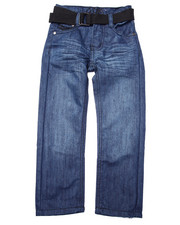 Bottoms - BELTED MERCER JEANS (4-7)