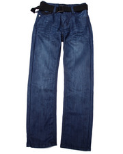 Sizes 8-20 - Big Kids - BELTED MERCER JEANS (8-20)