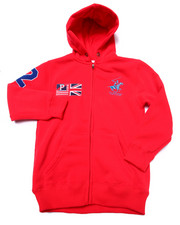Sizes 8-20 - Big Kids - BHPC FULL ZIP HOODY (8-20)